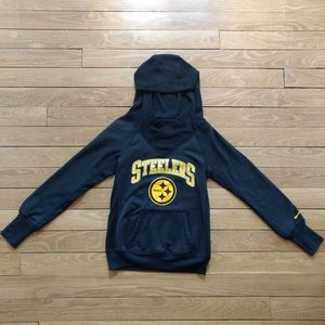 Nike Pittsburg Steelers NFL  women's S hoodie